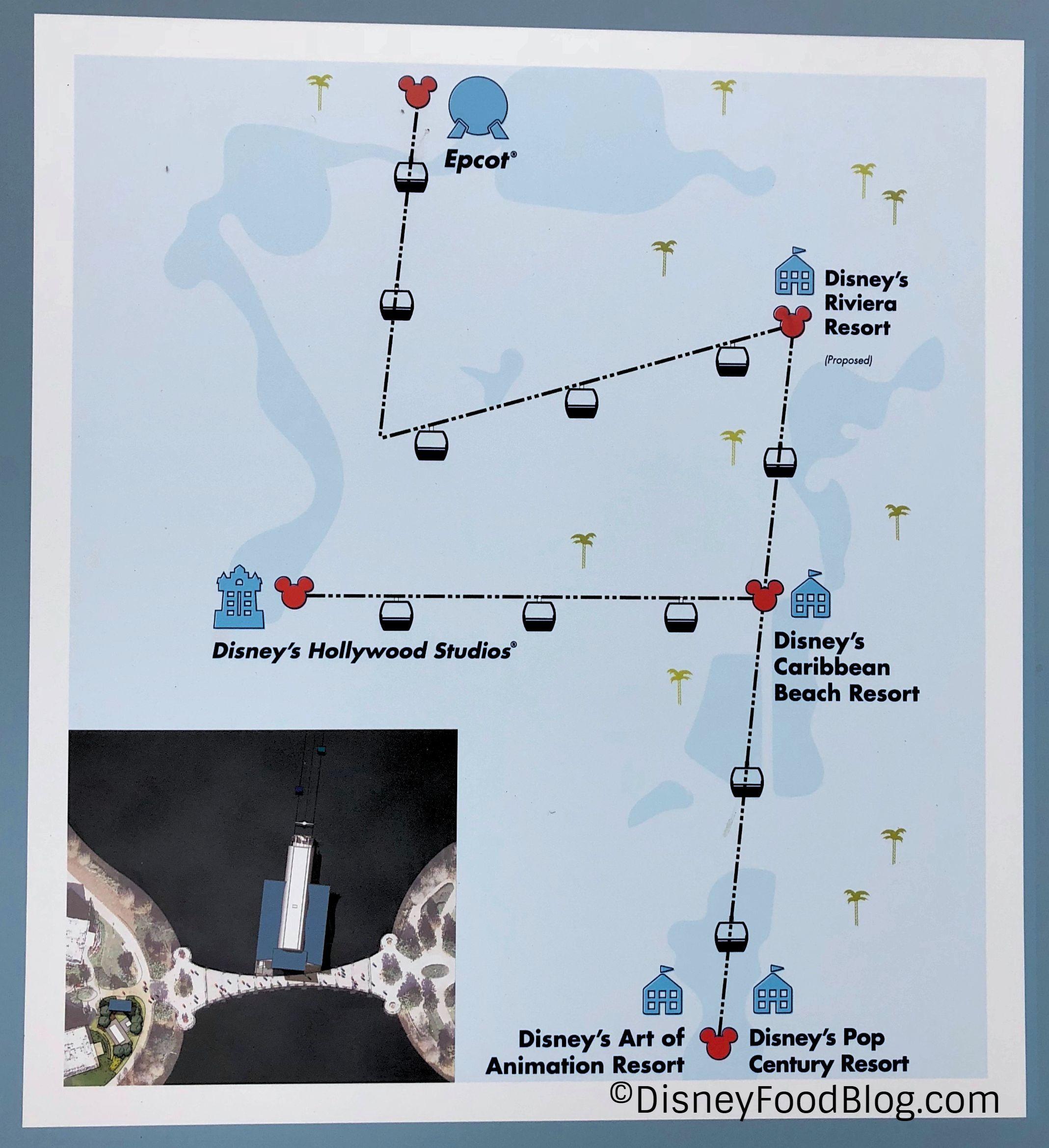 Disney-Skyliner-Map